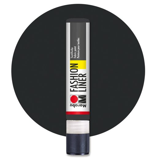 Fashion Liner Textile Marker, Black