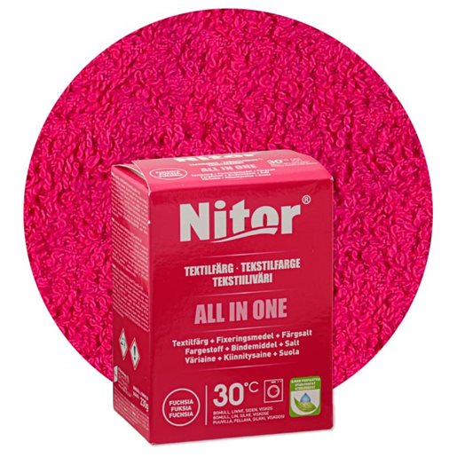 Nitor all-in-one textile dye