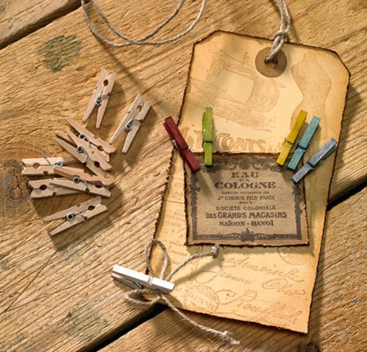 Mini Clothes Pegs