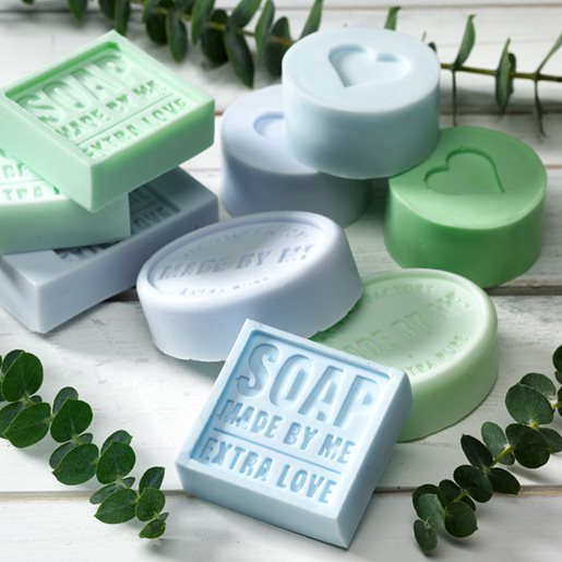 Soap embossing form